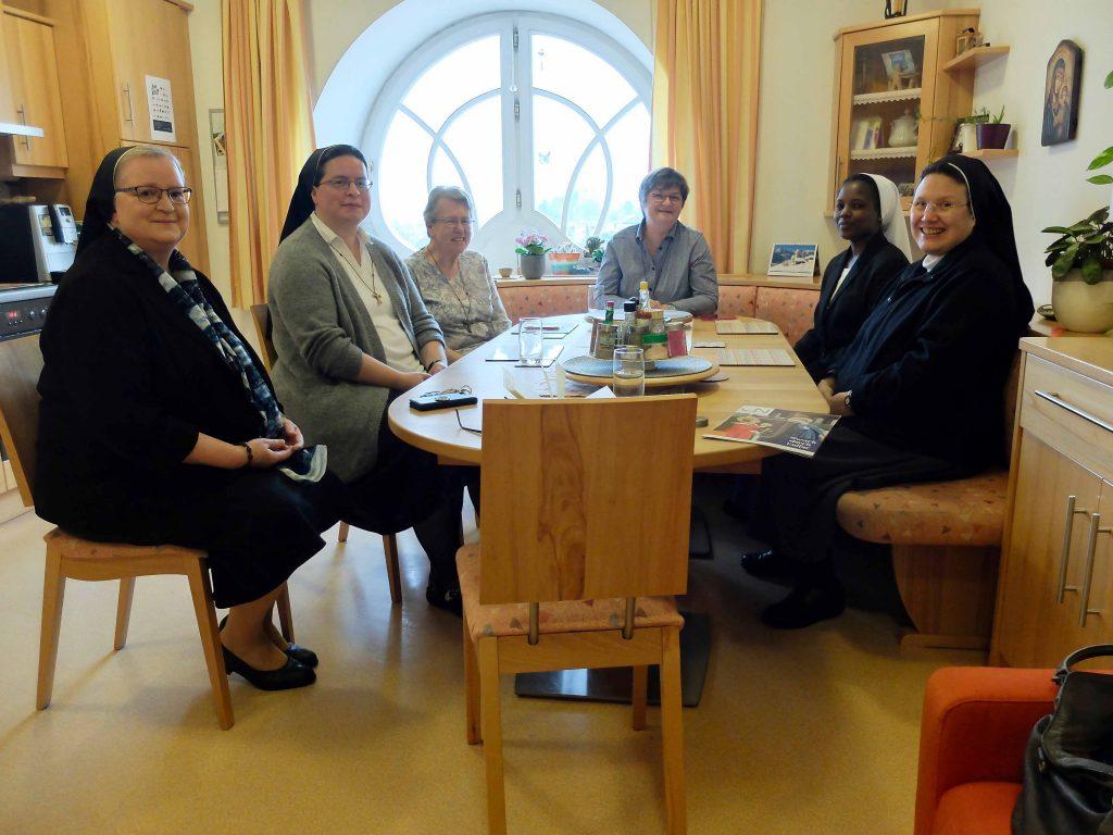 Zu Gast im Ausbildungskonvent der Franziskanerinnen von Vöcklabruck