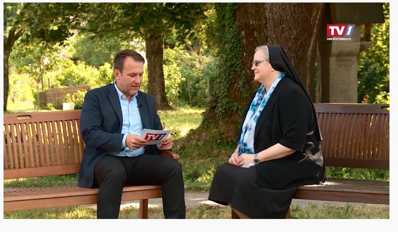 Sr. Angelika im Interview mit TV1