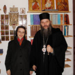Sr. Katharina mit Bischof Andrej