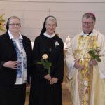 Ihre 25jährige Profess feierte Sr. Christiane Heinz