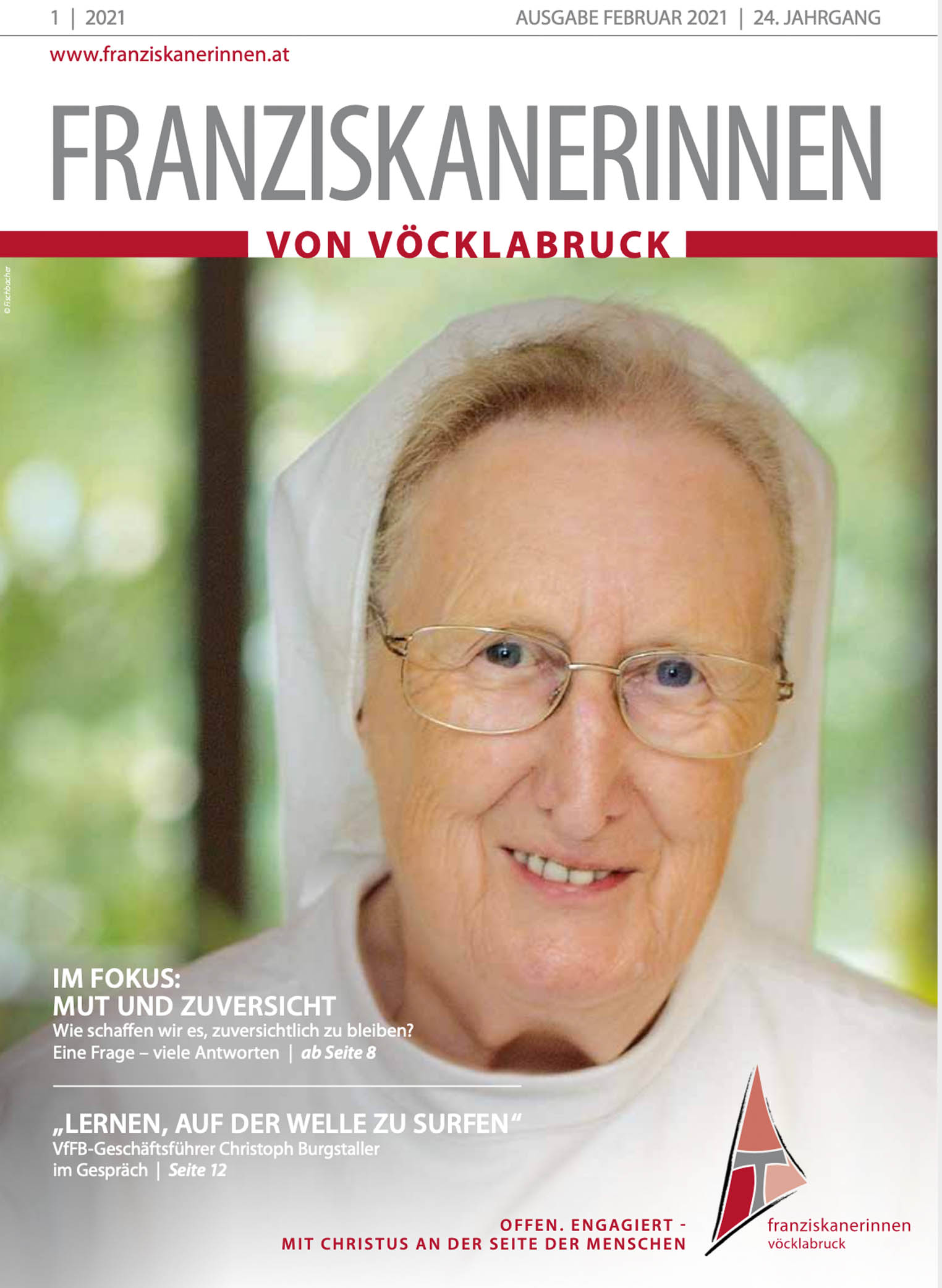 FranziskanerinnenMagazin 1/2021
