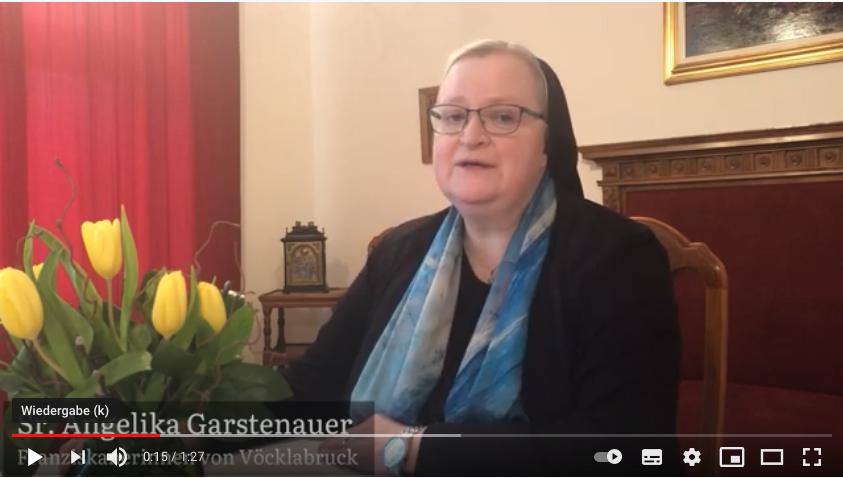 Fastenimpuls von Sr. Angelika Garstenauer