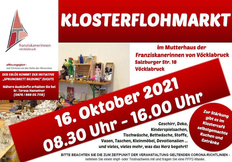 Klosterflohmarkt 2021